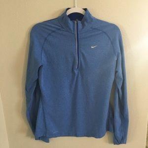 Nike dri fit half zip jacket. Size large